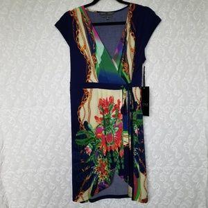 NICOLE BENISTI NWT wrap dress